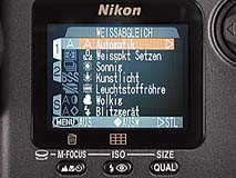Nikon Coolpix 990 Detail Menübedienung [Foto: MediaNord]