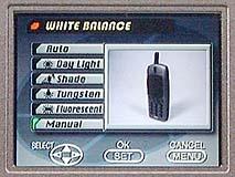 Casio QV-2000 UX -- manueller Weißabgleich