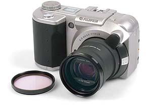 Fujifilm MX-2900 Zoom mit Farbfilter