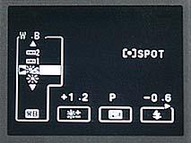 Fujifilm MX-2900 Zoom -- Weißabgleich mit fester Voreinstellung