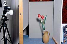 Bild 2: Aufbau für Bild 1 [Foto: Jürgen Rautenberg]