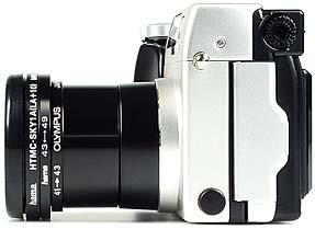 """Olympus C-2500 Zoom mit """"Objektivschutz"""""""