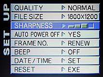 Bildschärfeeinstellung bei der Fujifilm MX-2700