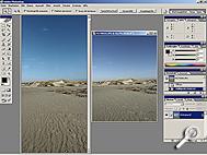 Bild5: Aufnahme mit 28-mm-Objektiv und neues Hochformat im Vergleich [Screenshot: MediaNord]