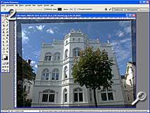 Fototipp - Shift-Objekte - ausrichten [Screenshot: MediaNord]
