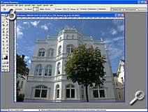 Fototipp - Shift-Objekte - Arbeitsfenster vergrößern [Screenshot: MediaNord]