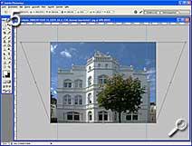 Fototipp - Shift-Objekte - perspektivisch verzerren [Screenshot: MediaNord]