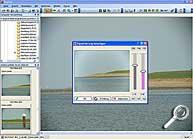 Vignettierungen beseitigen mit Fixfoto [Screenshot: MediaNord]