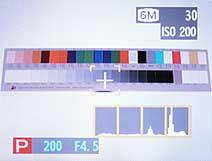 Histogramm-Anzeige einer Fujifilm FinePix S7000 [Foto: MediaNord]