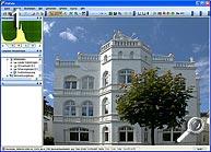Fototipp - Verzeichnungen korrigieren- Ausgangsbild in FixFoto [Screenshot: MediaNord]