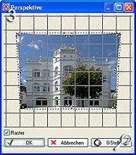 Fototipp - Verzeichnungen korrigieren- perspektivische Korrektur [Screenshot: MediaNord]