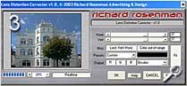 Fototipp - Verzeichnungen korrigieren - Richard Rosenman-Plugin [Screenshot: MediaNord]