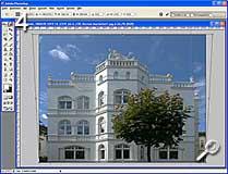 Fototipp - Verzeichnungen korrigieren - perspektivische Verzerrung [Screenshot: MediaNord]
