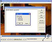 VirtualDub Rotationsauswahl [Screenshot: MediaNord]