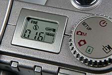 "Fujifilm MX-2900 Zoom -- Display mit Anzeige ""Blitz aus"""