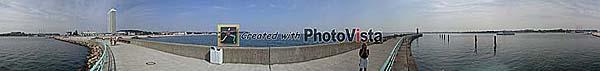Panorama-Foto