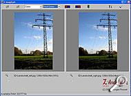 Das Programm Z-Anaglyph zur Berechnung von 3D-Fotos [Screenshot: MediaNord]